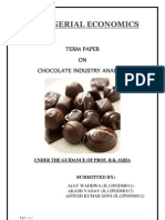 Chocolate Analysis