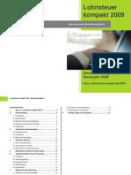 Lohnsteuer kompakt 2009 - Technisches Handbuch