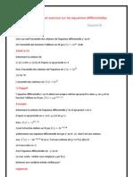Cours Et Exerccice Sur Les Equations Differentielles