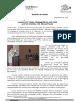26/01/12 Germán Tenorio Vasconcelos Anuncia Fondo Revolvente Del 30% Para Hospitales