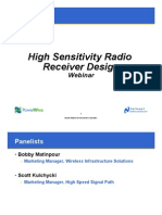 High Sensitivity Radio Design
