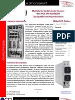 CCI 200W Cell Extender System - 1900 - CDMA PCS Edition V1 1