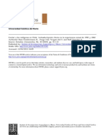 Contar a los indígenas en Chile. Autoadscripción étnica en la experiencia censal de 1992 y 2002