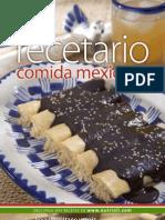 Nutrioli Recetario Comida Mexicana