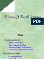 Excel Avance