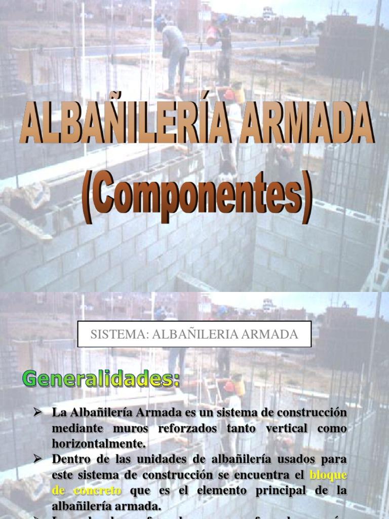 ALBAÑILERIA ARMADA - photo#11