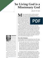 A Living Missionary God