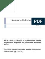 Seminario Multidisciplinario Beck