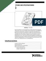 Benutzerhandbuch MyDAQ