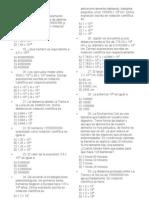 Evaluacion Potencias 8vo Basico 2007