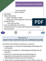 pdf Planejamento estratégico governamental - Unidade 4