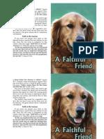 A Faithful Friend - Gospel Tract