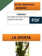 Sondeo de Mercado Banano