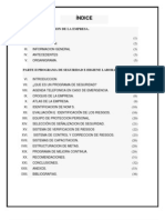 Estructura Del Programa de Seguridad