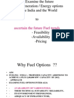 1 Fuel Switching Options