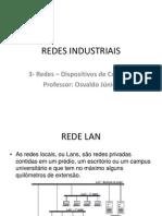 REDES INDUSTRIAIS cap.3 dispositivos de conexão
