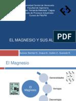 El Magnesio y Sus Aleaciones