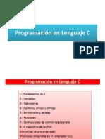 Programación en Lenguaje C