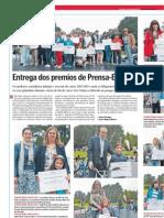 Entrega de Premios Del Programa Prensa-Escuela Del Curso 2012-2013