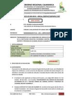 INFORME TÉCNICO 020-2013_NUESTRA SEÑORA DEL CARMEN _CELENDIN