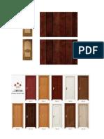 Texturas de Puertas