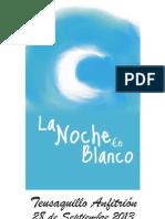 Convocatoria 5 Jun Nebb2013Convocatoria a Artistas La Noche en Blanco Bogotá