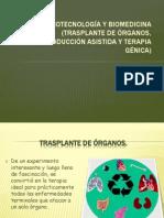 biotecnología y biomedicina