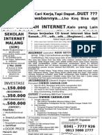 SEKOLAH Internet Di Malang