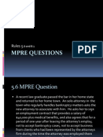 MRPC Rule 5.6 Question