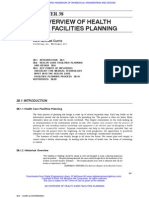 AN OVERVIEW OF HEALTH CARE FACILITIES PLANNING