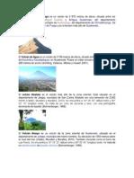 Volcanes de Guatemala Todos
