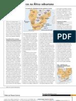 Alterações estratégicas na África subsariana