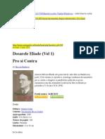 Mircea Handoca - Dosarul Eliade