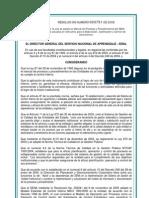 Resolucion 003751 Manual Procesos y Procedimientos Versi0n 202008