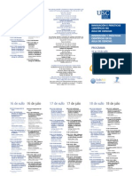 Programa CursoveranUSC 2013