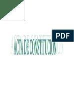 Acta de Constitucion de La Sociedad Comercial de Responsabilidad Limitada