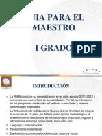 GUÍA PARA EL MAESTRO DE I GRADO ANALIZADA Y ACTUALIZADA