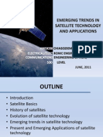 Emerging Trends in Satellite Technology and Applications Seminar Summary