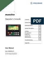 Maestro Owner's Manual