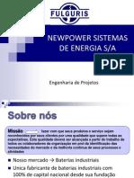 APRESENTAÇÃO NEWPOWER - Baterias FULGURIS
