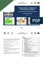 INDECI-PNUD - Riesgo Sísmico y reducción riesgo en el CH de Lima