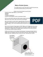 Pinhole Camera Worksheet