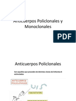 Anticuerpos Policlonales y Monoclonales