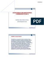 Auditoria Em Industria Farmaceutica II