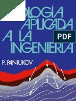 Paniukov P - Geologia Aplicada a La Ingenieria