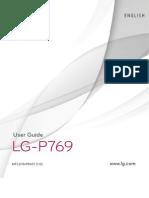 LG-P769 Optimus L9 English User Manual