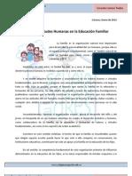 Art.N8 -Valores y Virtudes Humanas en La Educacin Familiar
