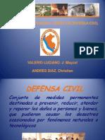 Defensa Civil Exposicion