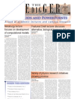 The Oredigger Issue 20 - February 25, 2008