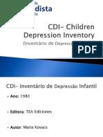 CDI- Children Depression Inventory